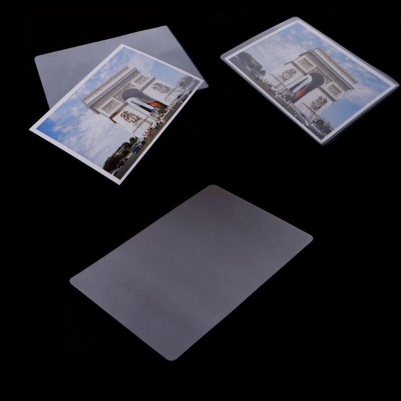 Фотобумага для ламинирования блестящая Защитная фотобумага 100 шт. 4x6