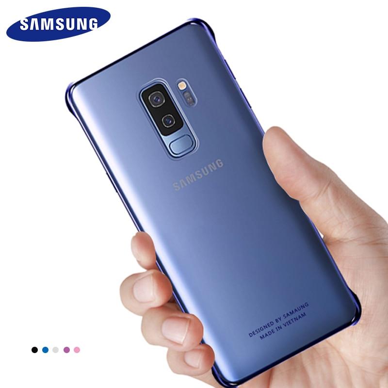 Оригинальный чехол для Samsung Galaxy S9 S9 Plus, милый роскошный кожаный тонкий чехол 360, жесткий ударопрочный защитный чехол для ПК