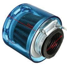 35mm Blau Luftfilter Reiniger Für 50cc 110cc 125cc Roller Motorrad PIT Dirt Bike Motorrad