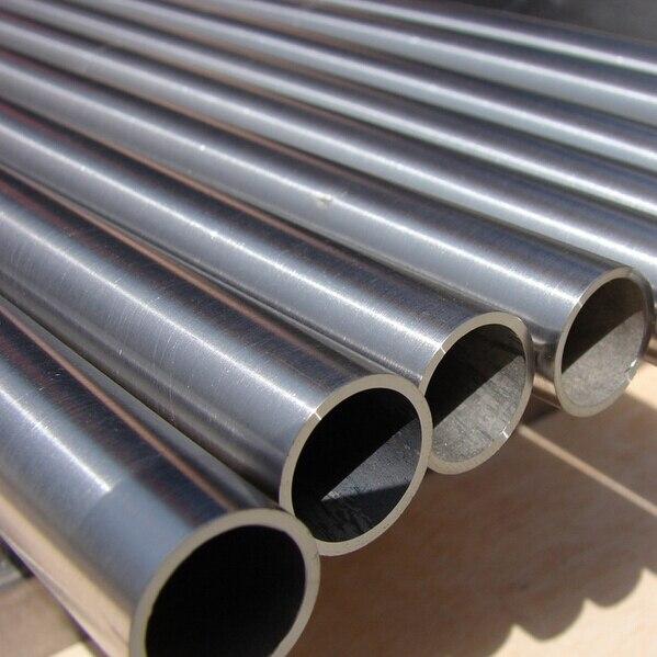 Tubo capilar sin soldadura de titanio TA1 TA2 6X1mm, tubo de Ti de alta presión anticorrosión