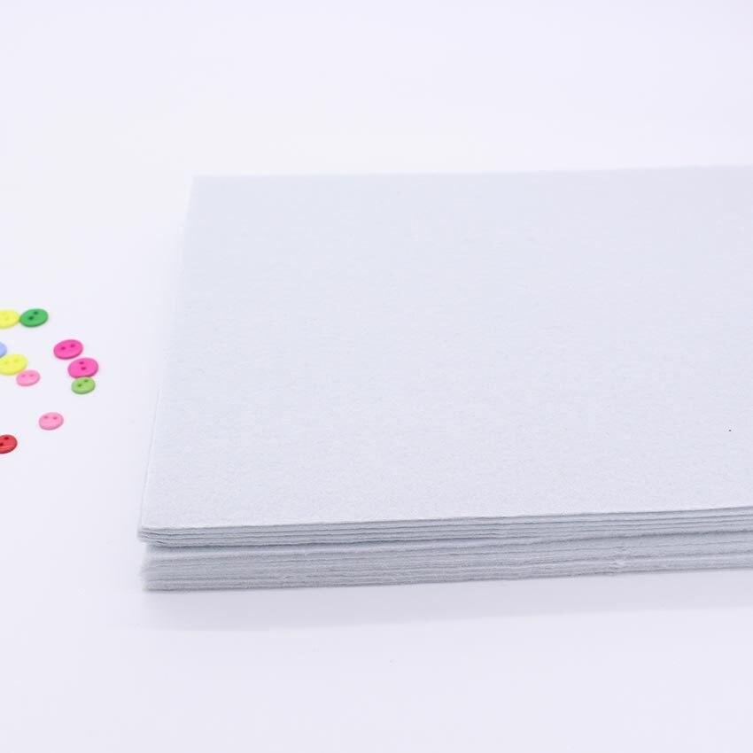 Tissu feutre dur blanc de 2mm, Polyester, tissus, couture bricolage à la main