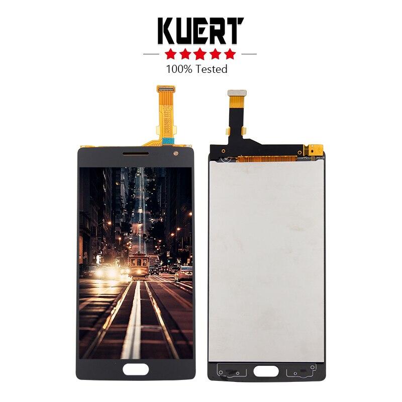 Envío Gratis para OnePlus2 OnePlus 2 two A2001 A2003 A2005 digitalizador pantalla táctil Lcd montaje de pieza de reparación