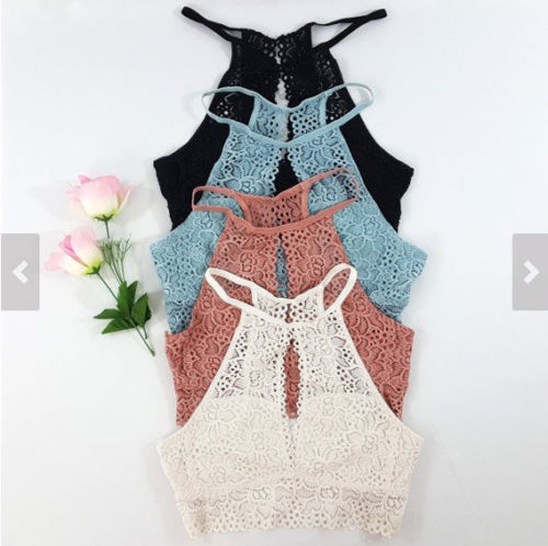 2019 moda verano mujeres Casual Tank Tops chaleco blusa sin mangas Crop Tops camisa