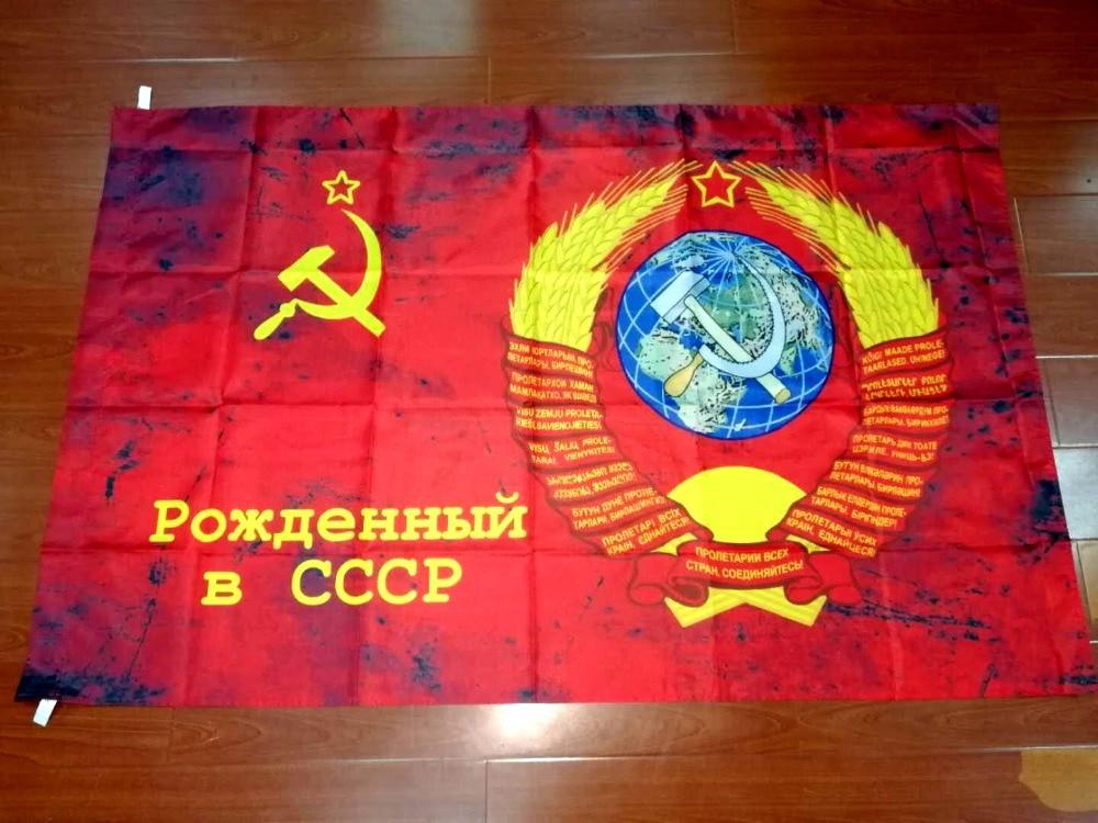 Russische sieg tag 90*135cm Kommandant Sowjetunion 1964 CCCP UDSSR Banner flagge