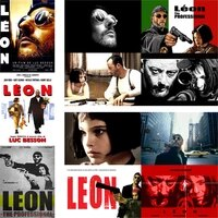 leon the prefessional posters classic movie wall stickers vivid color glossy paper prints home decoration free shipping