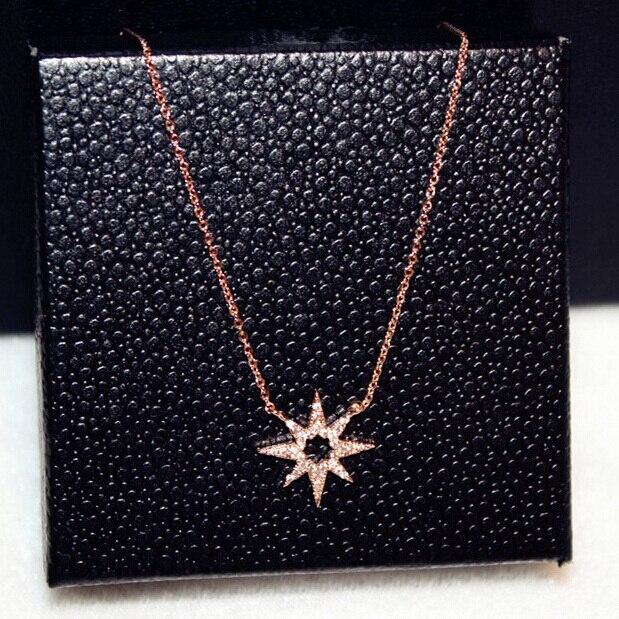 Collar gargantilla de girasol con diamantes de imitación de color oro rosa, joyería de moda para mujer, collares y colgantes elegantes al por mayor