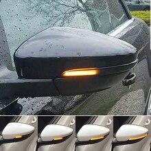 ANZULWANG для VW Passat CC B7 Beetle Scirocco Jetta MK6 Евро LED боковое крыло Динамический указатель поворота Индикатор зеркала заднего вида