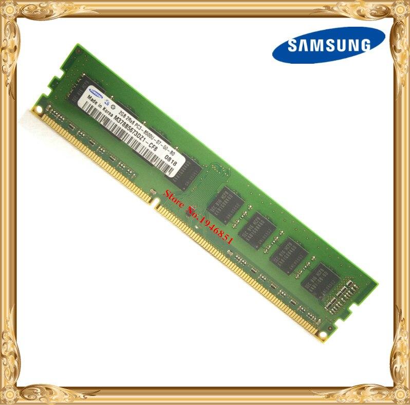 Samsung escritorio memoria original DDR3 2GB 4GB 1066MHz 2G PC3-8500U PC RAM 1066 de 8500