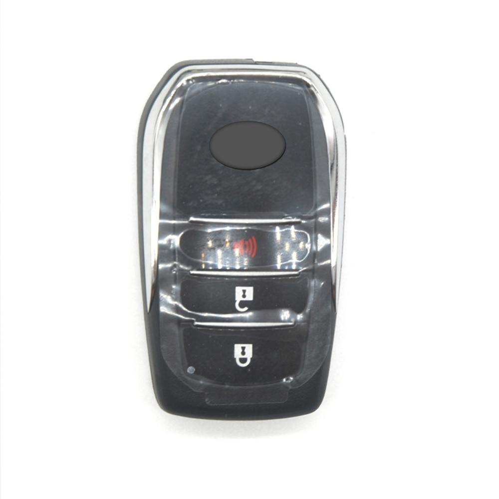 Ziguang-télécommande intelligente 433MHz   4 boutons, télécommande intelligente avec puce 8A, pour Toyota Fortuner