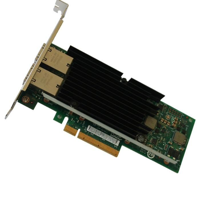 Новые оригинальные чипсеты 10G с двумя портами RJ45 Ethernet, конвергентный сетевой адаптер
