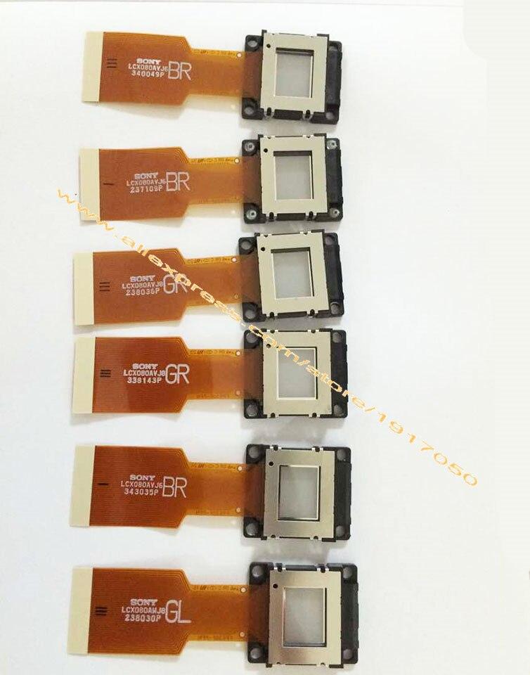 لوحة LCD لجهاز العرض LCX080 ، LCD ، أحادية ، موشور ، جديدة وأصلية