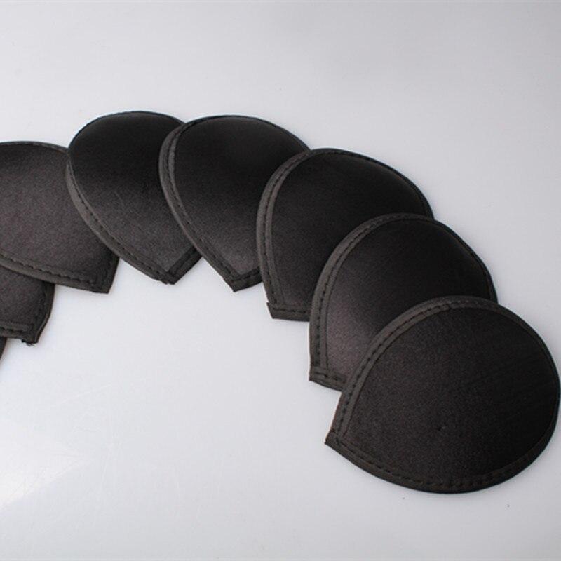 Negro disponible 13cm lágrima tocado de satén base para sombrero de mujer sombreros DIY accesorios para el cabello derby sombrerería de fiesta material MYQH016