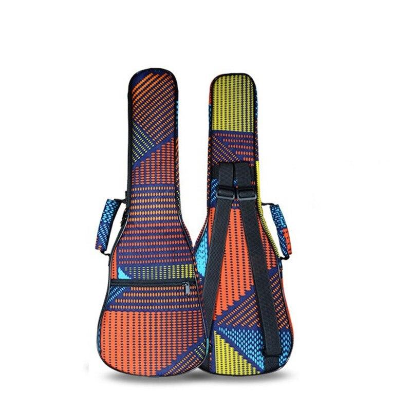 Venta al por mayor al por menor impermeable vintage 21 26 concierto ukelele bolsa soprano caso lanikai guitarra acolchado mochila patrones correas bolsillo