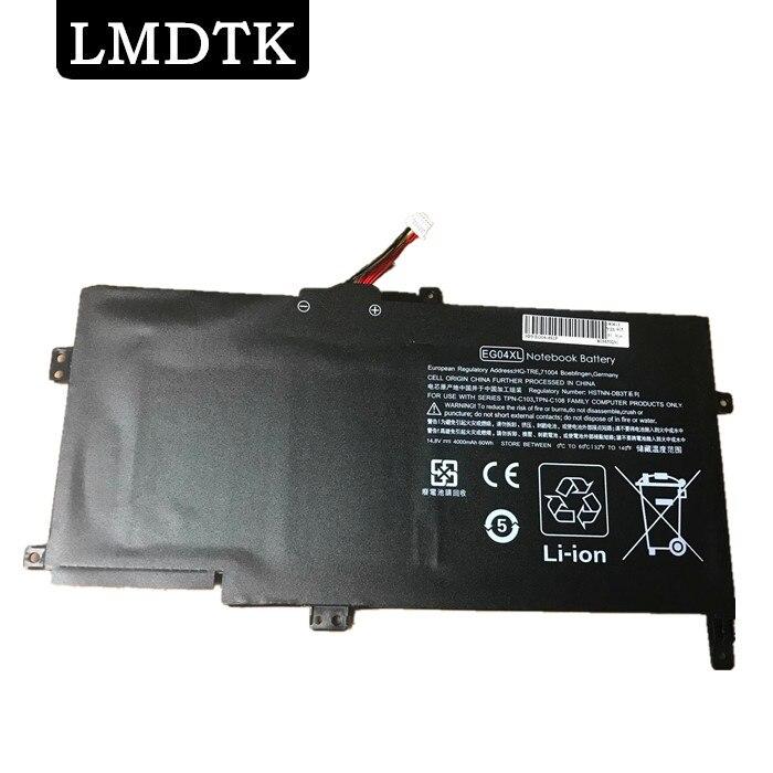LMDTK nueva batería de ordenador portátil para HP envidia 6-1051ER envidia 6-1006EA envidia 6-1004TU HSTNN-IB3T TPN-C103 TPN-C108 EG04XL HSTNN-DB3T