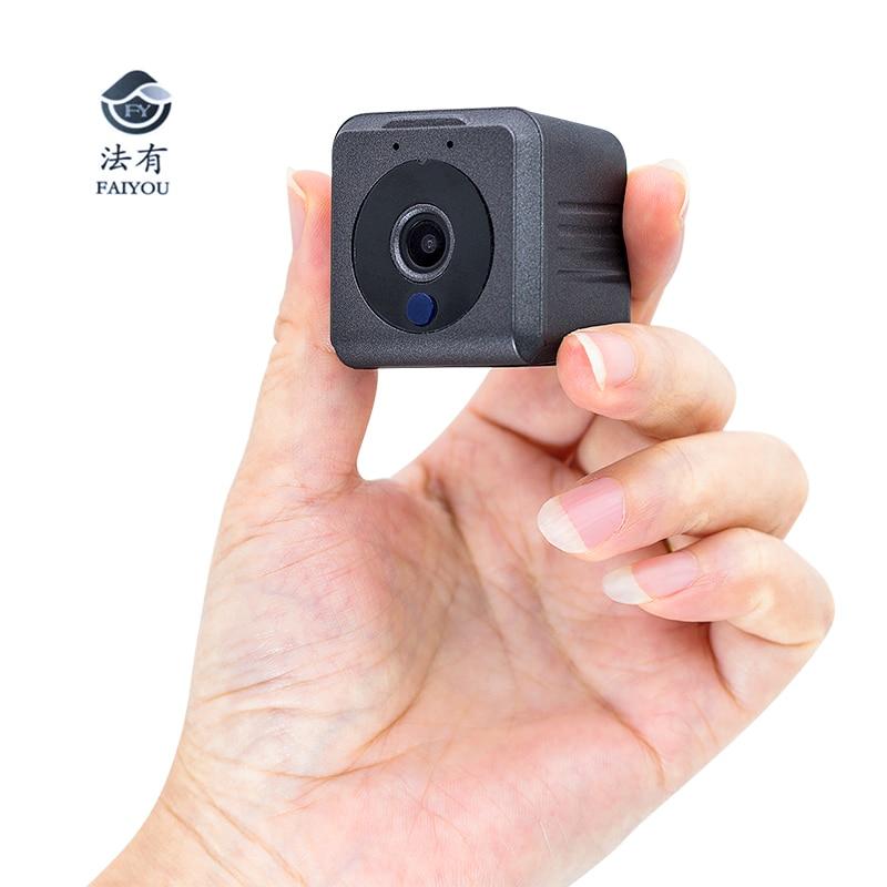 Mini cámara inalámbrica WIFI 940nm IP aplicación remota visualización gran angular 140 grados IR visión nocturna sin luz formato H.264 AVI