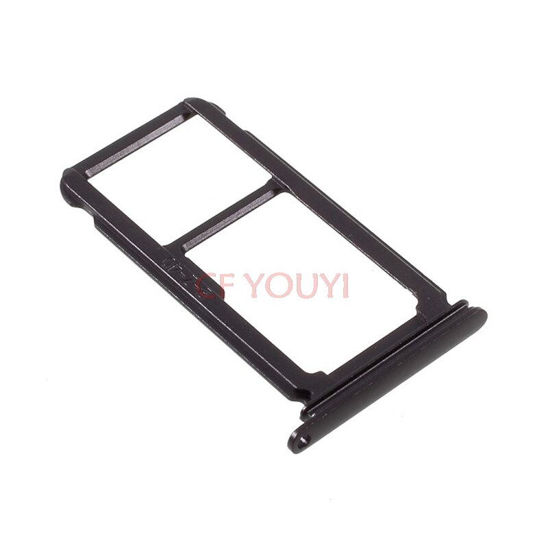 10 unids/lote tarjeta SIM bandeja soporte ranura parte para Huawei P10 Plus