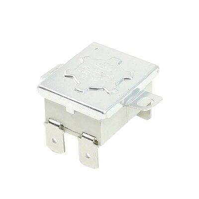 Interruptor control de temperatura AC250V 15A 98C NC termostato 4 pines