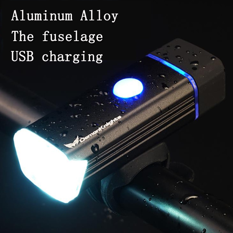 waterproof led cycling front head bicycle bike light headlight headlamp bike front head light flashlight torch Bike Front Light   Waterproof Torch Bike Headlight Bicycle Light USB Charging Flashlight Cycling Light