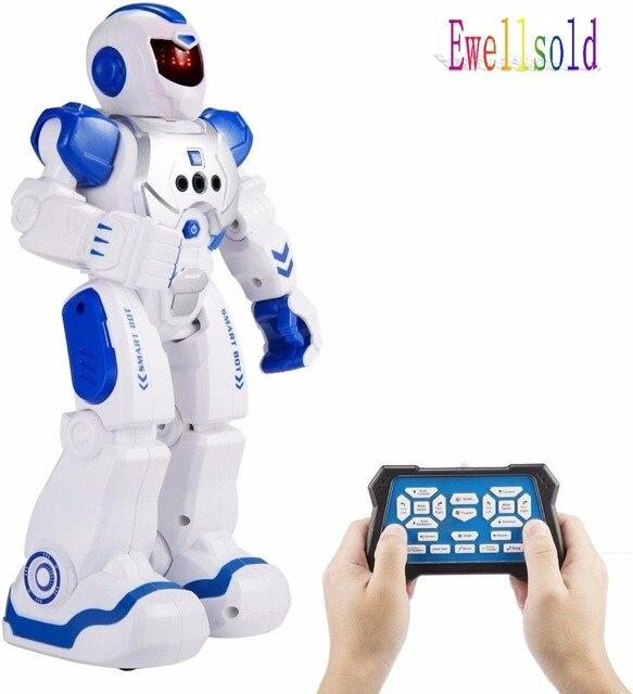 Remote Control Intelligent Robot Gesture Sensing Programming Charging Children Dancing Robot Fighting Defentor Boys Gift
