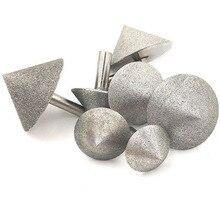 90 Dregree diamant cône chanfrein meulage tête pierre verre chanfrein forage chanfrein meulage tête 20-60mm