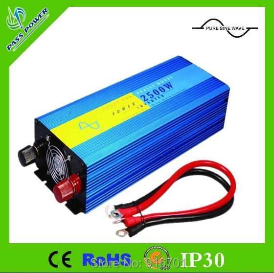 Inversor de onda sinusoidal pura de 2500 w 48 v 240 v CC a inversor de corriente alterna de kW