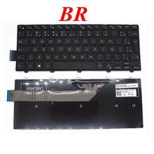 GZEELE Nouveau Brésil BR Clavier Dordinateur Portable pour DELL Inspiron 14-3000 3441 3442 3443 3451 3452 3458 3459 5447 PK1313P1A32 NSK-LQ0SC