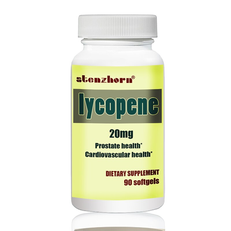 lycopene  20mg  90pcs  Promotes Prostate and Cardiovascular Health*