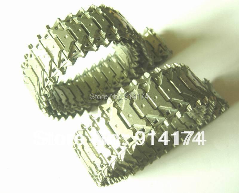 Henglong 3839/3839-1 EUA M41A3 1/16 tanque RC peças de upgrade de metal pista 2 pçs/set