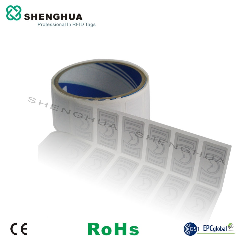 10pcs/lot UHF RFID Tag For Inventory Control Passive Anti-counterfeit Label Sticker Programmable Logistics Label Management