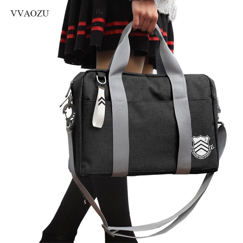 Школьная сумка аниме Persona 5, сумка-мессенджер через плечо для косплея Японии