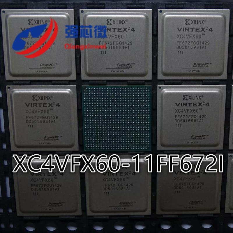 XC4VFX60-11FF672I XC4VFX60-11FF672 XC4VFX60-11FF شحن مجاني جديد الأصلي IC رقاقة