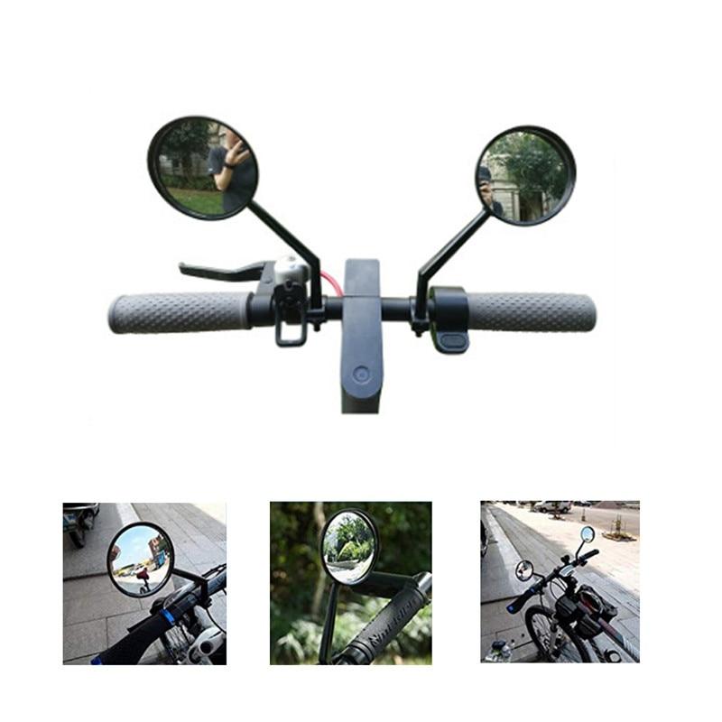 Espejo retrovisor bicicleta Scooter Eléctrico MTB bicicleta vista grande convexo espejo Retroreflector modificación accesorios para mijo