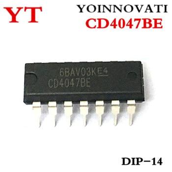 100pcs/lot CD4047BE CD4047 4047 IC IC Best quality
