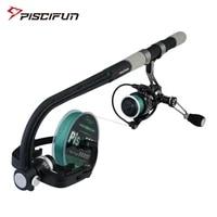 piscifun portable fishing line winder spooler spinning baitcasting reel line spooler machine station system line spooling winder