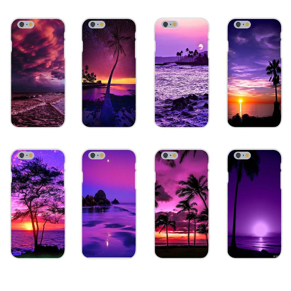 For Galaxy J1 J2 J3 J330 J4 J5 J6 J7 J730 J8 2015 2016 2017 2018 mini Pro Soft TPU Cool Best Beautiful Purple Beach Sunset
