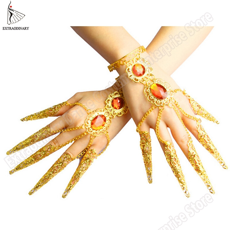 Женские браслеты из Индии для танца живота