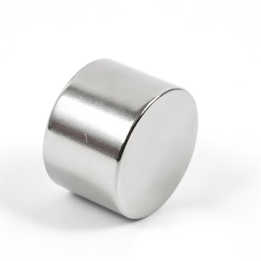 U-JOVAN 1 шт. 30x20 мм N35 Круглые неодимовые магниты супер сильные 30 мм * 20 мм мощный редкоземельный магнит