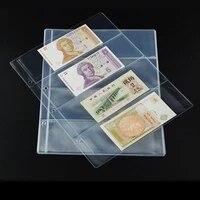 10Pages Lot 4 Units Page Paper Money Album PVC Paper Money Collection Holders Paper Money Protection Album