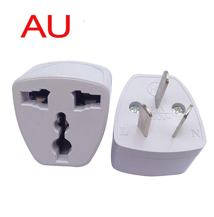 Drei-legged AU conversion plug Power Stecker Adapter Australian travel universelle umwandlung kopf Drei flache power stecker
