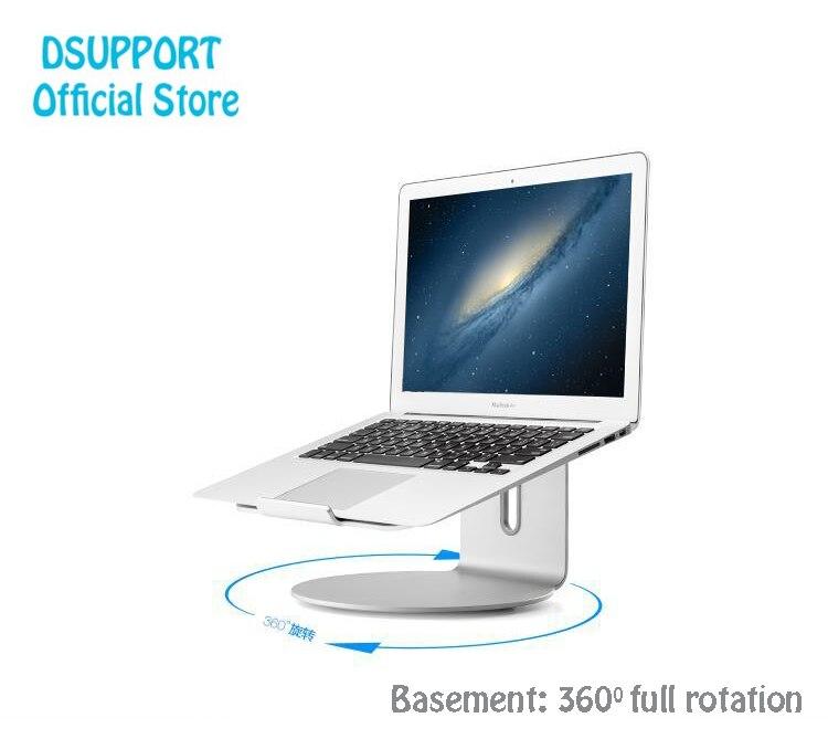 Aleación de aluminio 360 grados ajustable giratorio portátil soporte ángulo 15 grados para el hogar/Office11-17 pulgadas Notebook AP-2S