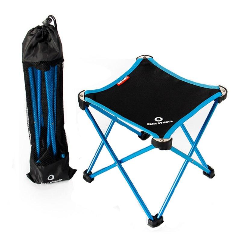 Переносное складное кресло для кемпинга рыбалки отдыха на природе из
