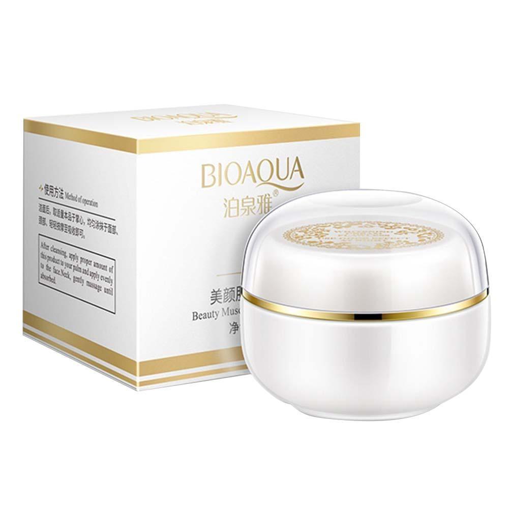 BIOAQUA Face Whitening Cream For Dark Skin Spots Scars Snow White Cream Day Night Face Cream For Skin Whitening Korean Skin Care