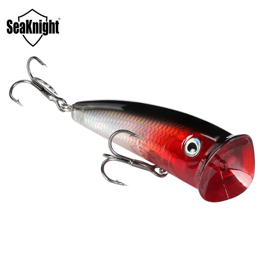 SeaKnight SK004 Topwater Popper 1 ud. Señuelo de pesca 11g 70mm cebo duro flotante cebos de pesca Wobblers pesca de fundición larga