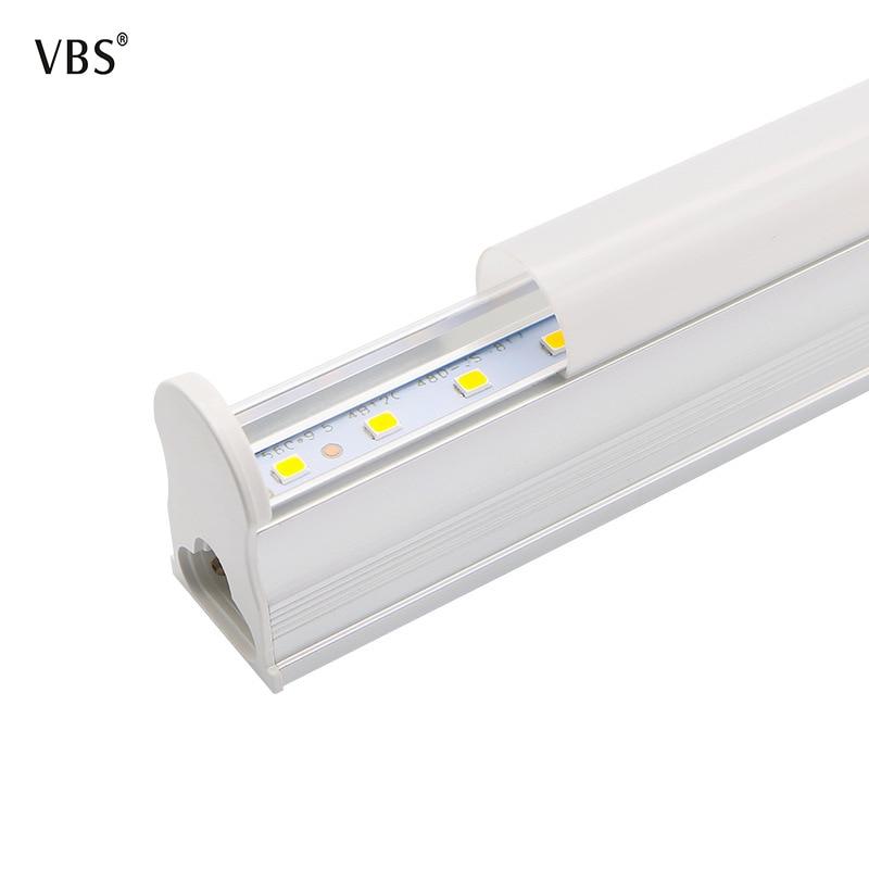 T5 conduziu o tubo 600mm 10 w 300mm 6 w conduziu a barra clara 2835 da lâmpada do tubo 110-240 v quente/branco 500 - 999lms lâmpadas de parede casa a1