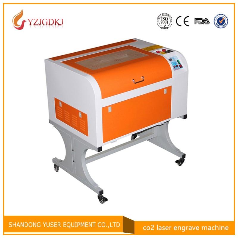 Бесплатная доставка 4060 80 Вт Стандартный CO2 лазерный гравировальный станок 4060 лазерный гравировальный станок 80 Вт станок для лазерной резки