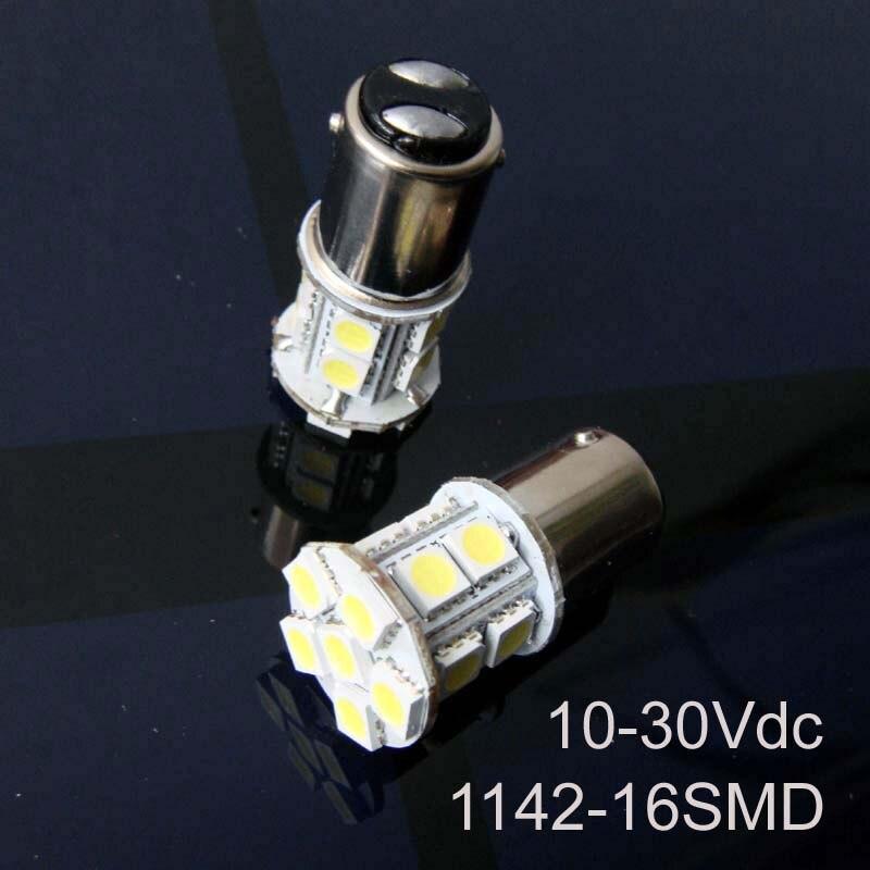 Alta qualidade 12/24VAC/DC 3W 1142 led Iate Navio Barco lâmpadas BA15D Levou Luz de Advertência Do Sinal Lâmpadas pçs/lote 10 24V frete grátis