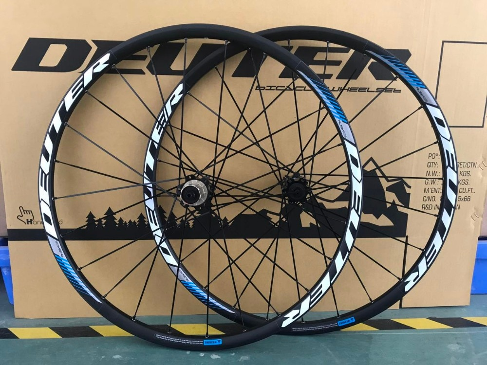 Juego de neumáticos para bicicleta de montaña, de 11 velocidades, 26/27,5/29 ER, llantas delanteras y traseras de 4 rodamientos, de aleación de aluminio, de 24H