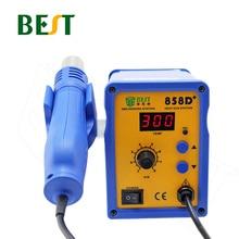 BEST-858D+ Adjustable Digital Display Hot Air Soldering Station Hot Air Blower Mobile Phone Repair Desoldering Station