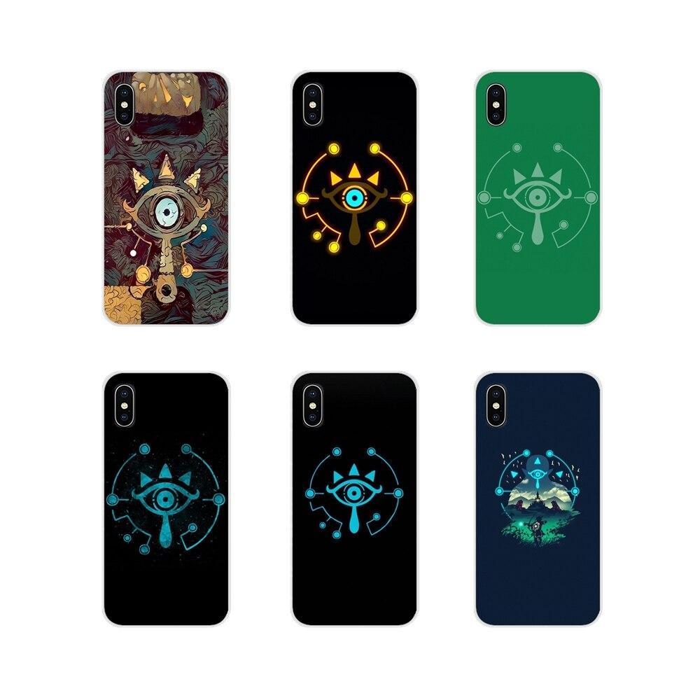 Accesorios cubiertas de los casos del teléfono sheikah pizarra para Huawei G7 G8 P7 P8 P9 P10 P20 P30 Lite Mini Pro P Smart Plus 2017 de 2018 a 2019