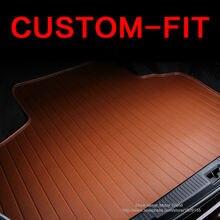 Tapis de coffre de voiture pour Mazda 3/6/2   Tapis de coffre de voiture adapté sur mesure, tapis de styliste 3D robuste pour toutes les saisons, tapis de fret HB17